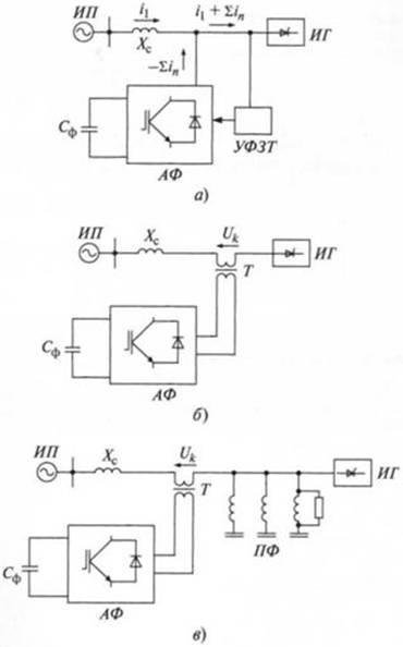 Схемы активных фильтров